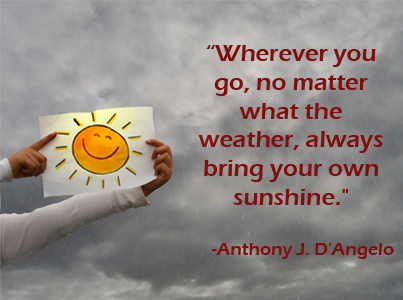 Bring Your Own Sunshine Anthony J.D'Angelo