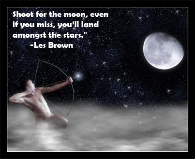 Les Brown Shoot For The Moon