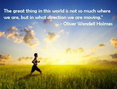 Oliver Wendell Holmes What Directions We Are Moving