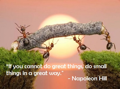 Napoleon Hill If You Cannot Do Great Things
