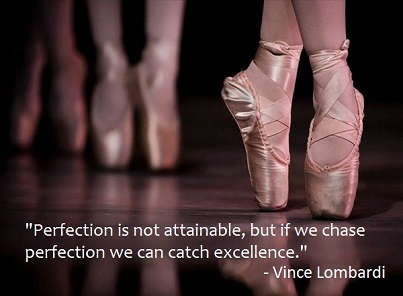 Perfection Vince Lombardi