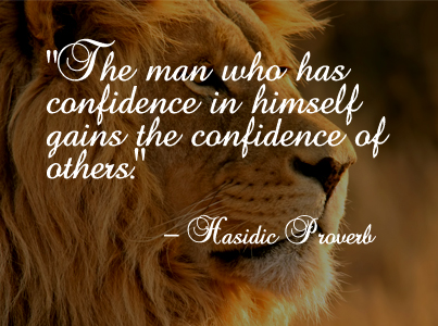 The Man Who Has Confidence