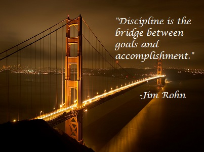 discipline quote by Jim Rohn