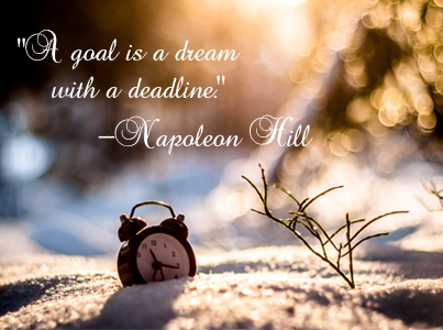 Napoleon Hill A Goal Is A Dream With A Deadline